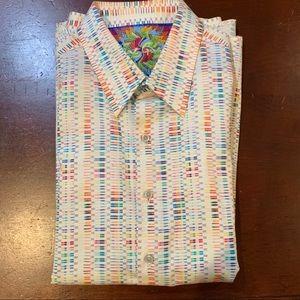 robert graham long sleeve dress shirt
